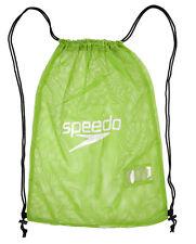 SPEEDO Equipment Mesh Bag Fluo Verde