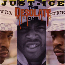 JUST-ICE - THE DESOLATE ONE [1989] CD ORIGINAL FRESH/MCA ISSUE CD CDRE-82010 RAP