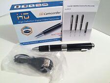 Spy Pen Video Cámara Grabadora Dvr Full Hd H. 264 1080p 30fps/720p 60 Fps & Photo's