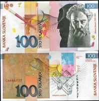 SLOVENIA 100 TOLARJEV 2003 P 31 UNC
