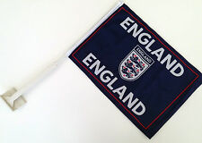 12 Pack England Car Flag Window FOOTBALL WORLDCUP 2018 Plastic Stick Clip