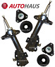 FITS HONDA CIVIC MK8 2005> FRONT SHOCK ABSORBERS & TOP STRUT MOUNTINGS L&R