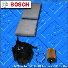 KIT di servizio per PEUGEOT 207 1.4 HDI OLIO CARBURANTE CABIN filtri (2006-2009)