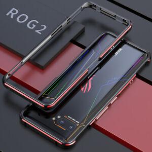 For ASUS ROG Phone II ZS660KL Case Luxury Slim Metal Aluminum Bumper Frame Cover