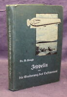Hoogh Zeppelin und die Eroberung des deutschen Luftmeeres um 1910 Original js
