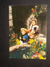 CPSM Enfants en costume de Quimper et Pont l'Abbé