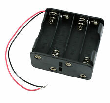 AA x 8 Open Battery Holder Box 15cm Wires