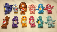 Set of 12 Care Bears & Cousins Collectible Mini Figures From Series 4