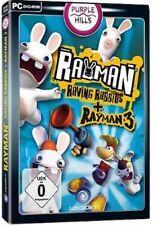 Rayman Raving Rabbids + Rayman 3 tedesco NUOVISSIMA