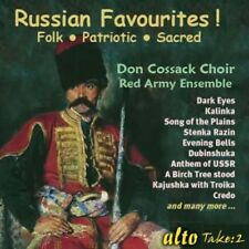 [BRAND NEW] CD: RUSSIAN FAVOURITES!: DON COSSACK CHOIR / RED ARMY ENSEMBLE