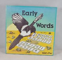 Child's Play Games Early Words  - New