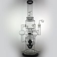 "Huge Collectible Glass Bongs Hookah oil rig Recycler 20"" Big water pipes bubbler"