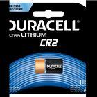 2 x Duracell CR2 3v Lithium Photo Battery DLCR2 ELCR2