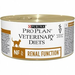 """Mousse PURINA Pro Plan Veterinary Diets """" Feline Nf Cats With Sickness Renal"""