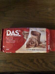 DAS Air-Hardening Modeling Clay 2.2 Lb. Block Terra Cotta (387600) Free Shipping