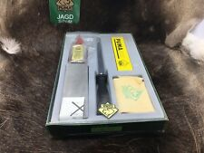 1980's Puma 90 3570 Sharpening Set Mint In Factory Green Box Clear Top Puma Logo