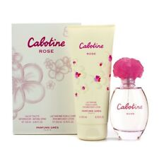 Parfums Gres Cabotine Rose EDT Eau De Toilette Spray 100ml/3.4oz & Body Lotion