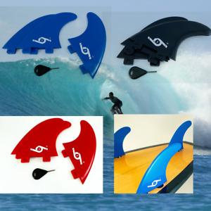 FCS Surfboard Fins M5 G5 Thruster Fins FCS Fin System Set of 3