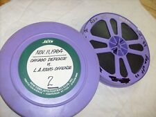 1984 Vintage Projector Film, Football - 16mm Chicago vs. L.A. RAMS