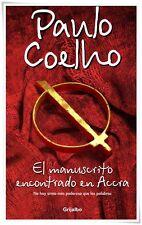 EL MANUSCRITO ENCONTRADO EN ACCRA BY PAULO COELHO (PAPERBACK) : NEW/SEALED