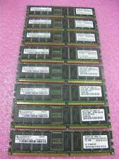 Lot 4 of Sun X7603A 1GB kit (2 * 512MB) 370-6202  PC2100R ECC for V240 Infinion