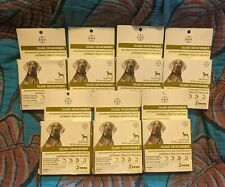 7 Bayer Quad Dewormer Large Dog Boxes NEW FACTORY SEALED Free Shipping!!