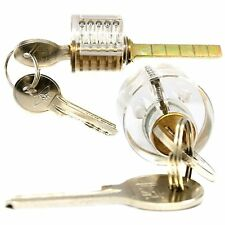 Brief Transparent Clear Visible Inside Padlock Locksmith Training Practice Lock