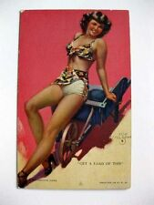 Vintage Pin Up Girl Picture Mutoscope Zoe Mozert Get A Load of This