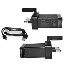 GENUINE SONY EP880 EP-880 MAINS CHARGER FOR XPERIA Z Z1 Z2 Z3 Z4 Z5 Compact