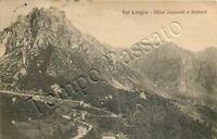 Cartolina di Schio, panorama - Vicenza, 1916