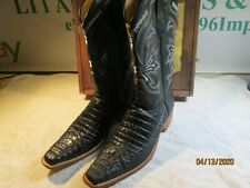 LOS ALTOS BOOTS ORIGINAL ALLIGATOR VERSACE
