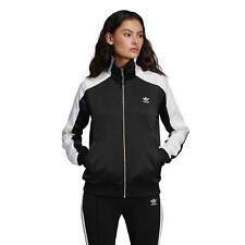 Adidas 2 Color Track Top Mujer Chaqueta Deportiva Negro/Blanco