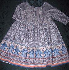 MAYORAL Scoop-Necked Print Dress NWT Girls 14