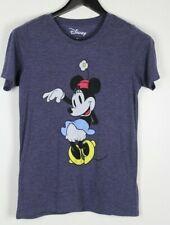 DISNEY Junior T-Shirt Purple w/ Minnie Size M
