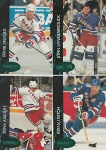 1992/93 New York Rangers Parkhurst Emerald Ice Parallel Team Set Of 23 Cards