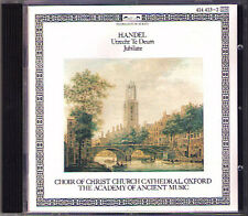 HANDEL Utrecht Te Deum Jubilate Emma KIRKBY Simon PRESTON CD Rogers Covey-Crump