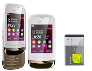 Nokia C2-03 Dual SIM 2G GSM 900 1800 Camera FM Radio Slide Touch &Type phone