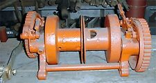 BeeBe winch 2 ton duplex drums. Nice little hand crank winch item 301