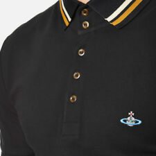 VIVIENNE WESTWOOD MAN KRALL POLO Shirt top Black xl new tags £120 100% real