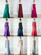 BHS Bridesmaid Dress Evie Purple Dusky Pink Champagne Jade Green Merlot Coral