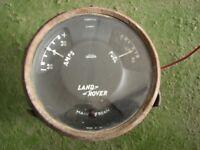 Land Rover Series 1 Jaeger Water Oil Fuel Gauge