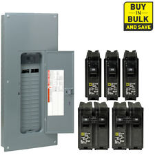Main Breaker Load Center 200 Amp 30-Space 60-Circuit Plug-On Neutral with Cover