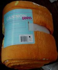"Cannon Teen Throw - Orange - Bandanna Pattern - 50"" x 60"" -  BRAND NEW"
