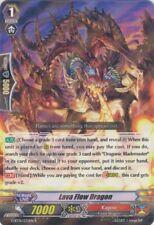 1x Cardfight!! Vanguard Lava Flow Dragon - G-BT01/032EN - R Near Mint
