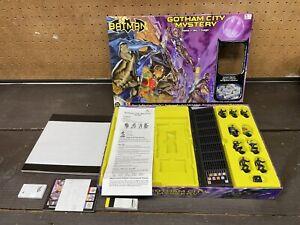 Batman Gotham City Mystery Board Game Mattel 2003 New Open Box Sealed Inside