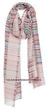 Indian Pure Wool Pashmina Shawl Scarf Wrap hijab Soft Reversible Women's Shawl