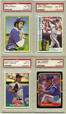 Big Rookie and Star mainly PSA 9 Lot - 12 cards Maddux, Strawberry, Ripken