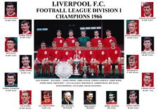 LIVERPOOL F.C. 1966 LEAGUE CHAMPIONS MEMORABILIA