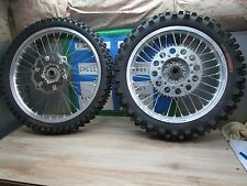 YZ 125 YAMAHA ** 2002 YZ 125 2002 TAKASAGO EXCEL FRONT AND REAR WHEEL SET