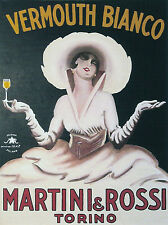 Paper Print Poster A4 Vintage Vermouth Drink Ad Art deco for Glass Frame